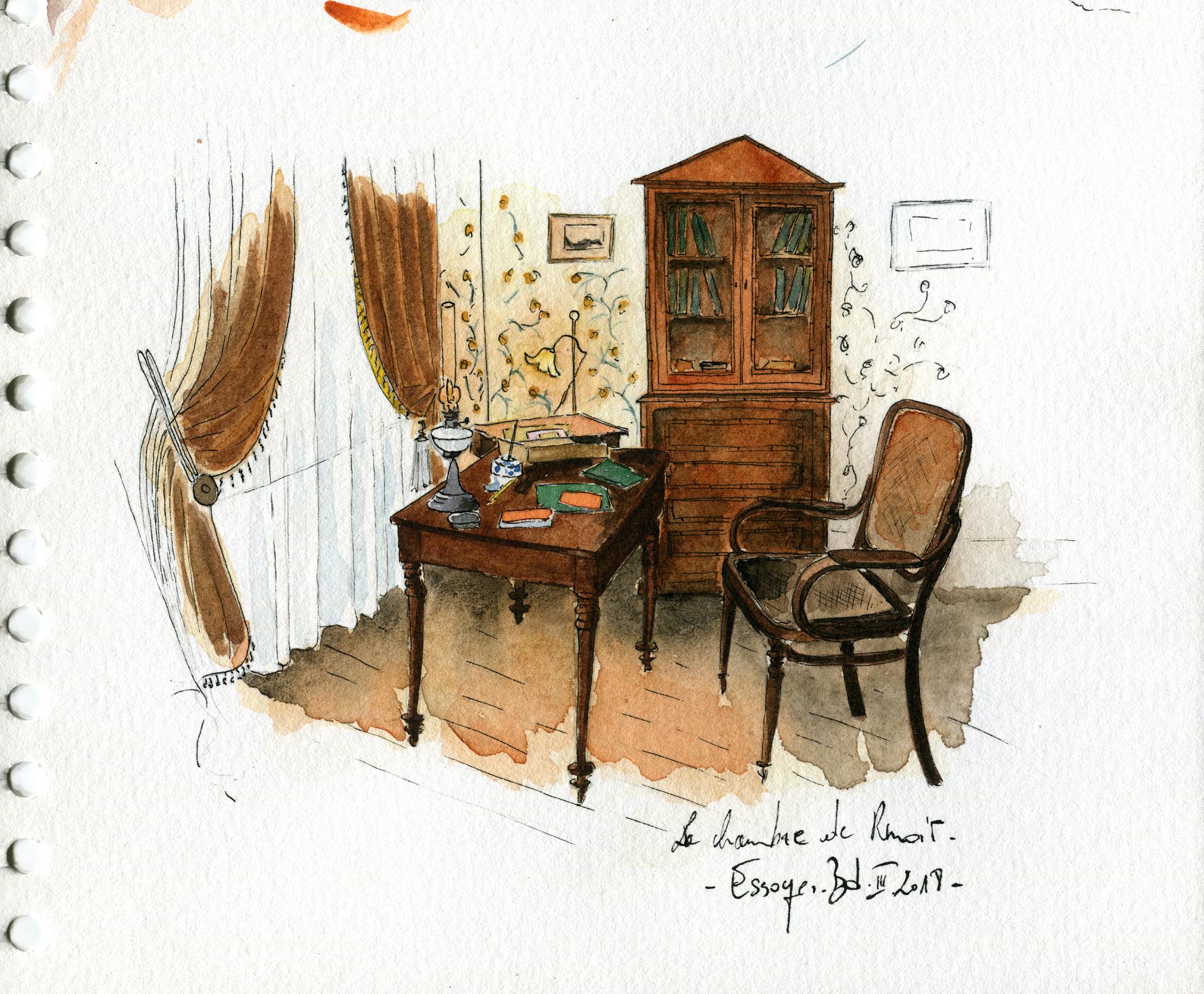 Le temps suspendu à la maison des Renoir…