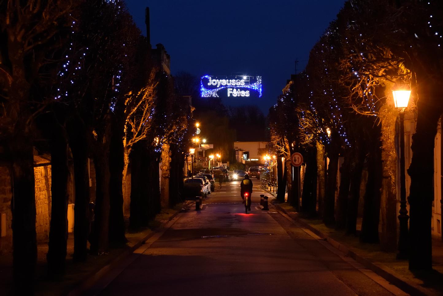 Un Noël à Villennes-sur-Seine.