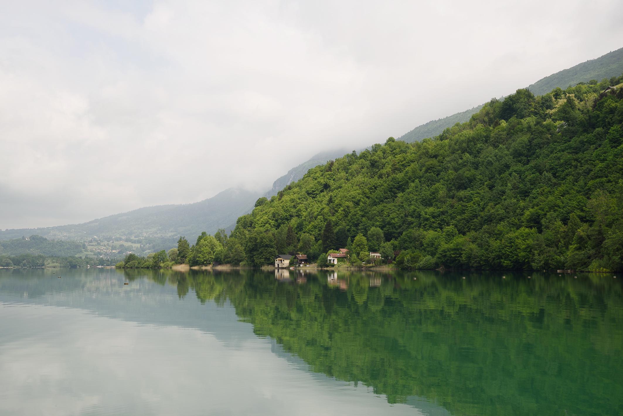 Féérique, le lac d'Aiguebelette…