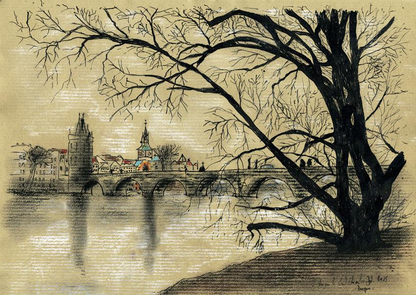 008-Prague -Pont Charles