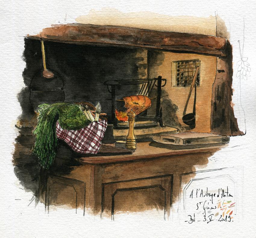 014-Ariège - l'auberge d'antan