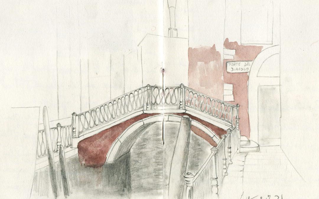 Carnet de Voyage : Venise à contre-flots, en secrets, en mystères…-1