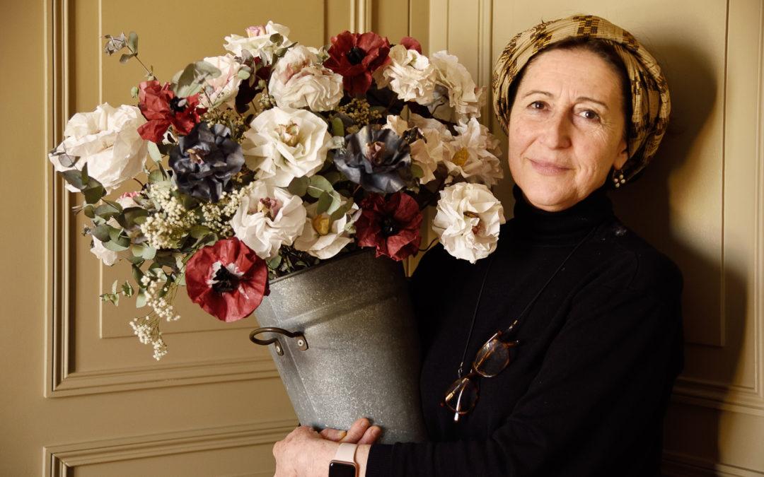 A l'ombre des fleurs, un éternel printemps… – Portrait de Sylvie Hartmann